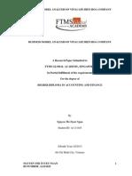 Business Model Analysis of Vinacafe Bien Hoa Company