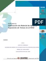 Guia Elaboracion de Material de Apoyo y Exposicion de Temas en El PERE
