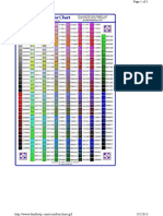 html colour chart