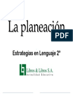 Planeacio¦ün Estrategias en Lenguaje 2-¦
