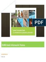 DUNIKdeck Informacion Tecnica ES 2011