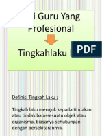 Ciri Guru Yang Profesional