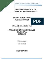 FILOSOFIA CICLO VI  1