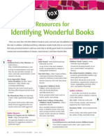 10x resources for identifying wonderful books