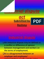 Dispute Act