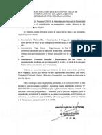 Informe de Situacion de Ejecucion de  Obras de Electrificacion