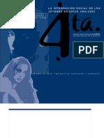 INJUV CHILE - Cuarta Encuesta Nacional de Juventud