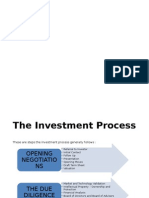 The Investment Process - Angel Financing