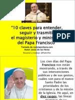 10 Rasgos Del Papa Francisco