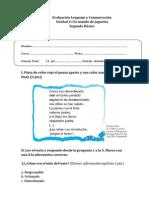 Evaluación Lenguaje y ComunicaciónU4