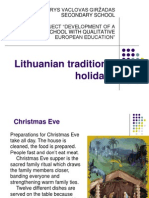5. Lithuanian Traditional Holidays