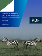 Checklist de Divulgacao Dos CPCs 2012(1)