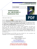 Studienbegleitender Deutschunterricht LHB-CD-ROM INHALTSVERZEICHNIS