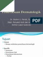 Pemeriksaan Klinis Dermatologi