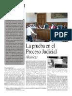 La Prueba en El Proceso Judicial