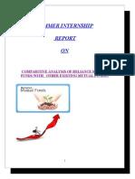 reportonreliancemutualfunds-121126093835-phpapp02