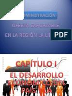 Oferta Exportable de La Libertad