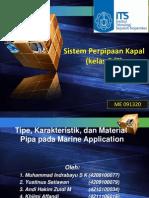 Kelompok 1 - Klasifikasi,Material, karakteristik pipa.pptx