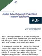 Análisis de dibujos.LOS 5 VERSUS de PAULA ELKISH .ppt