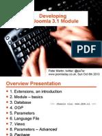 Developing a Joomla 3.x Module