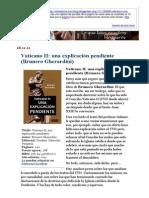 Vaticano II_ una explicación pendiente (Brunero Gherardini)