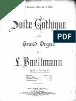Boellmann - Suite Gothique