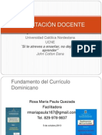 Fundamento Del Curriculo