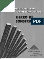 Aceros Arequipa - Manual de Aplicacion Para Fierro de Construccion 5th