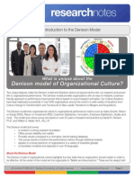 Denisonorganizationalculturemodel Overview 100811134546 Phpapp02