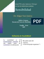 1. FISIO. PRÁCTICA DE SENSIBILIDAD