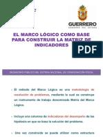57781255 El Marco Logico Como Base Para Construir La Matriz de Indicadores