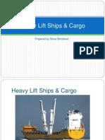Heavy Lift Ships Cargo