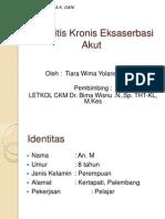 Tonsilitis Kronis Case Akgani