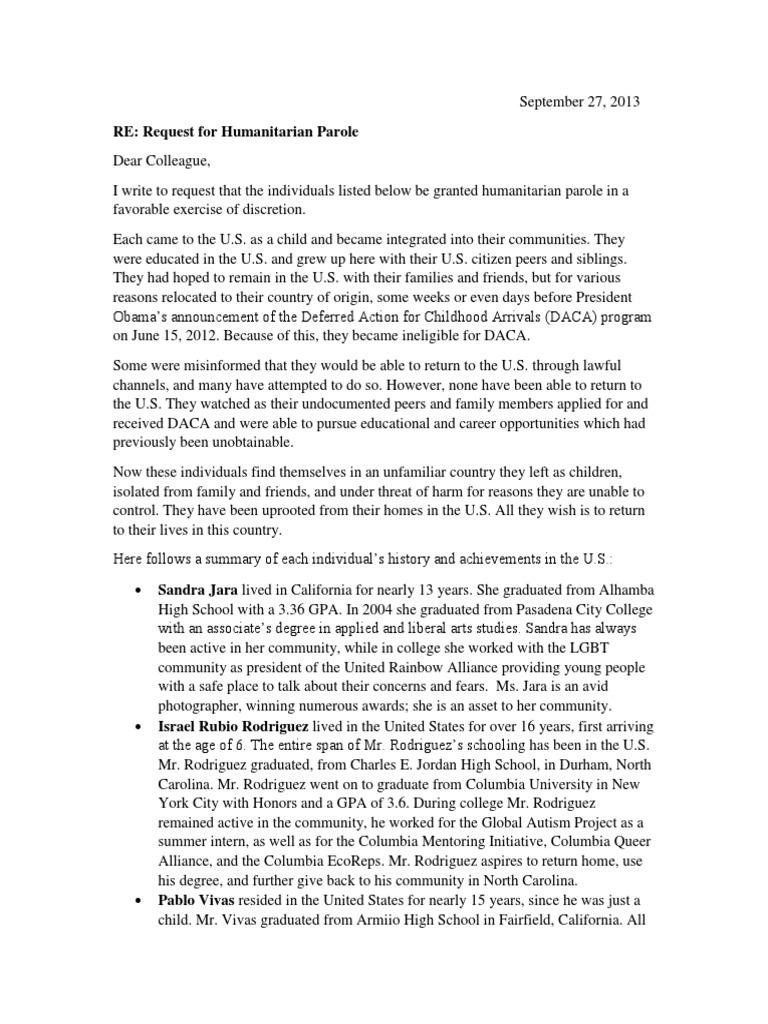 Sample Immigration Letter For Family Member from imgv2-1-f.scribdassets.com