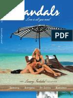 Sandals Main Brochure