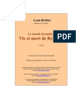 Brehier Vie Et Mort Byzance