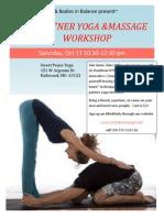 Partner Flyer Workshop