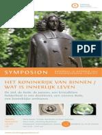 Symposion Spinoza Utrecht Academiegebouw 26 oktober 2013 Stichting Rozenkruis Het Koninkrijk van binnen.pdf
