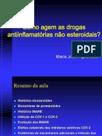 Como agem as drogas antiinflamatórias não esteroidais 1911 ZZ