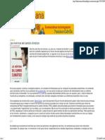 fragmento editado del prólogo del libro de Jorge Alcalde, LAS MENTIRAS DEL CAMBIO CLIMÁTICO