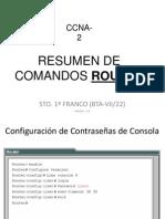 Resumen Comandos Router