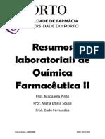 Resumos Laboratoriais QF II