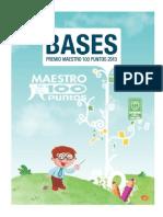Bases Premio 2013