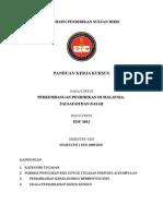 Panduan Kerja Kursus EDU 3012 Sem 1200910