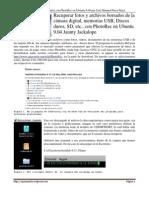 Recuperación de fotos y archivos de memorias USB con PhotoRec en Ubuntu 9.04