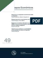Eficacia en La Asignacion Sectorial