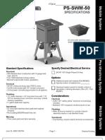 PS SWM 50 Spec Sheet