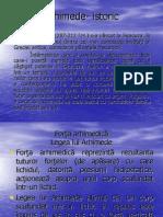 aplicatiile legii lui Arhimede - Fizică – mecanica fluidelor