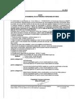 Anunt Examen Autorizare Iulie 2013