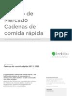 Comida Rapida Estudio de Mercado 2011 2012